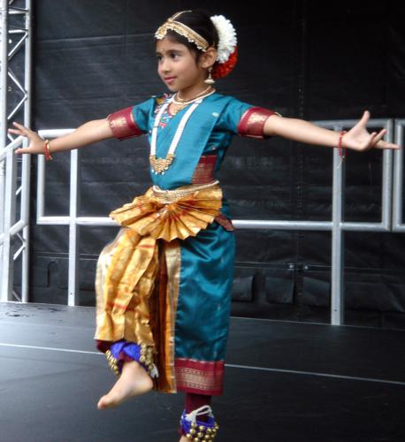 [ Fabrizia's student performing at Big Dance in Luton ]