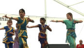 Fabrizia's students performing at Midsummer Festival 2009 |
