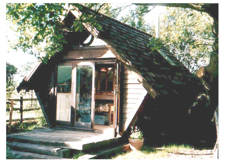 The Ark, a cosy cabin at Michael's Folly