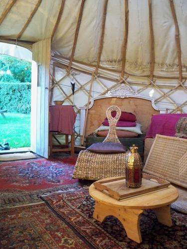 The Yurt at Michael's Folly